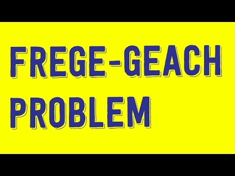 Most Famous Ethical Puzzle: The Frege-Geach Problem - Philosophy Tube