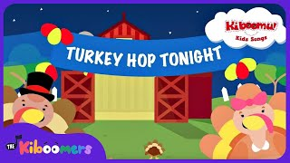 Do The Turkey Hop | Turkey Hop Song | Preschool Songs | The Kiboomers