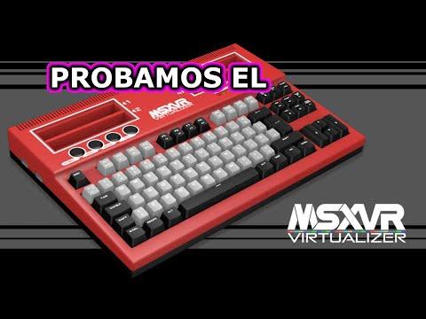 MSXVR Unboxing y review | primeras impresiones