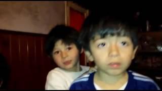 Mis nietos cantando si te vas de Osuna