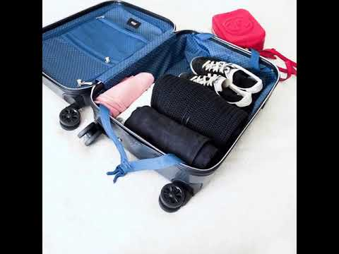 Travel hack from London Luton Airport - packing