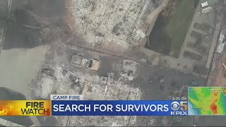 Recovery Teams Scramble To Search Camp Fire Rubble Ahead Of Rain
