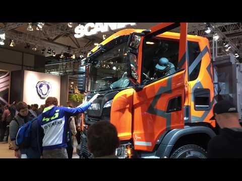 Scania Standrundgang IAA 2018