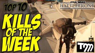 Star Wars Battlefront - TOP 10 KILLS OF THE WEEK #29