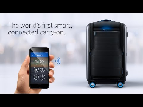 Bluesmart – The World's First Smart Connected Carry-on Suitcase