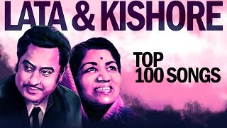 Top 100 Songs of Lata - Kishore | लाता - किशोर के 100 गाने | HD Songs | One stop Jukebox width=
