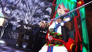 【MMD】 Senbonzakura 千本桜-Violin ( Cover Violin-Lindsey Stirling )