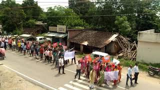 Jawali BJP rally lead by Thakur Arjun singh