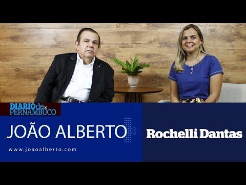 João Alberto entrevista Rochelli Dantas