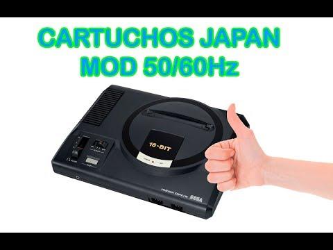 MOD CARTUCHOS JAPONESES + 50/60Hz + LED