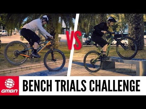 Park Bench Trials Challenge | Mountain Bike Skills