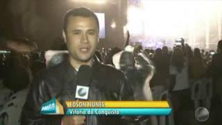 Roberto Carlos Emocionou Muita Gente Com Show Em Vitória Da Conquista-BA | Bahia Meio Dia | 29/05/17