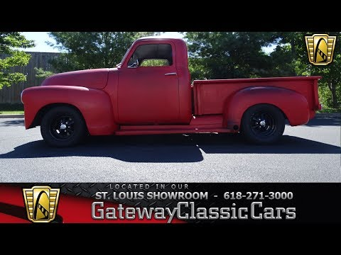 1953 Chevrolet 3100 Stock #7437 Gateway Classic Cars St. Louis Showroom