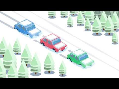 Лайфхак МЧС: машину замело на трассе
