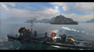 warships music video