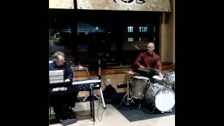 Awesome Jazz Band Playing in the Cafe at Wegmans on East Avenue in Rochester, New York! February 26t