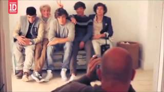 One Direction Photoshoot Behind The Scenes (Sub. Español)