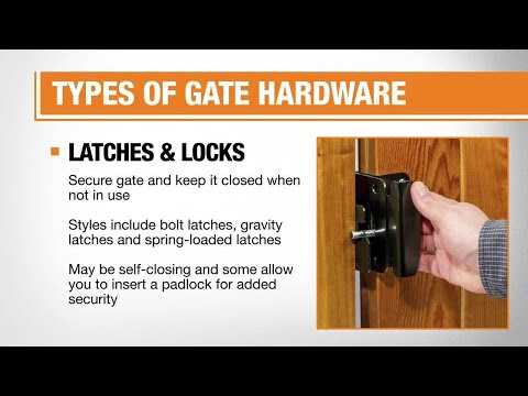 Best Gate Hardware for Your Fences