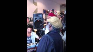 the Congos, Live Instore Performance @ Northside Records