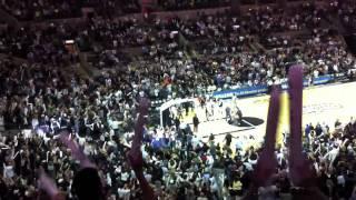 "Spurs Manu Ginobili buzzer beater vs Bucks in HD ""live"""