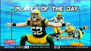 Player of the Day - LB Clay Matthews