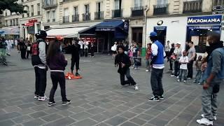 STREET BATTLE Les Twins VS. Bones The Machine+Pee Fly VS. Laura+Boubou | YAK FILMS width=