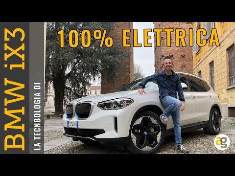 La Tecnologia di BMW iX3 100% elettrica