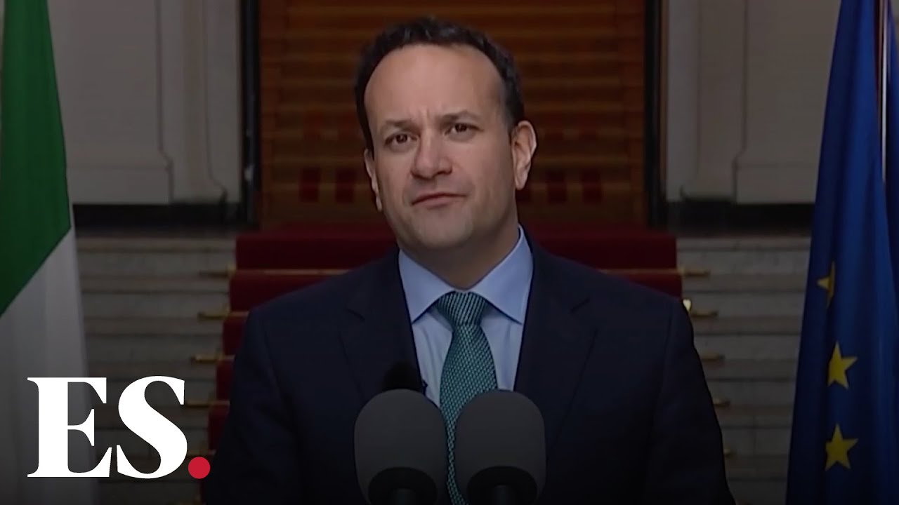 Leo Varadkar : Ireland Unveils Five Stage 'Road Map' on how it will Lift Coronavirus Lockdown