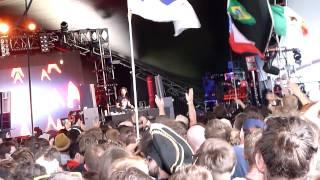 Steve Aoki - Boneless - Sonic Stage - Glastonbury Festival 2013 (1/4)