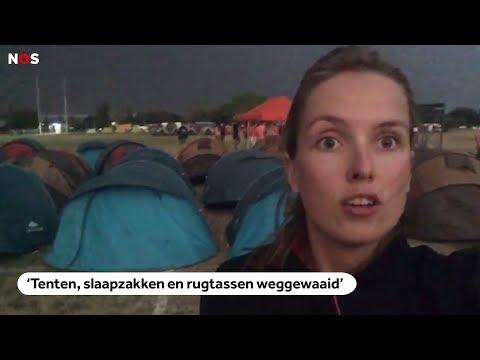 STORM: Tentenkamp Nuon Solar Team van TU Delft weggewaaid in Zuid-Afrika
