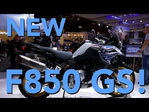 2018 BMW F850 GS First Look