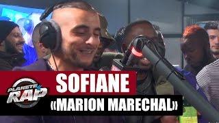 Sofiane dédicace un freestyle à Marion Maréchal Le Pen