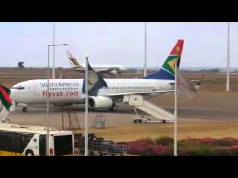 Flights from U.S.A to/around Southern Africa on SAA