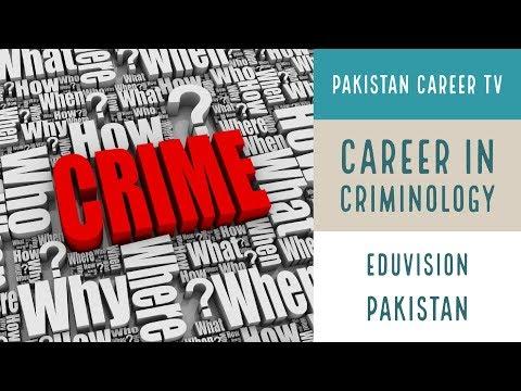 Career In Criminology