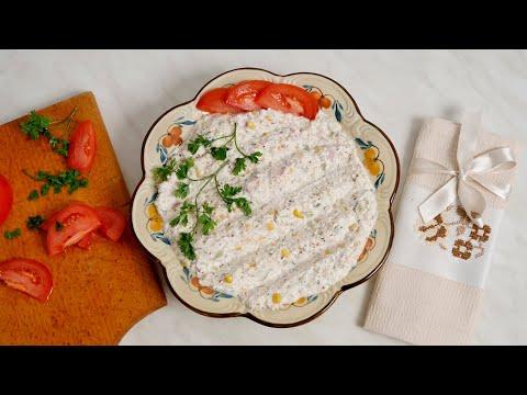 Susam salata sa sirom - uz pečenje, kao namaz, ili uz testeninu