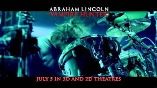 "Abraham Lincoln: Vampire Hunter featuring Linkin Park ""Powerless"""