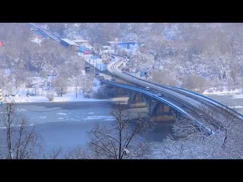 Metro bridge in Kiev YouTube.mov