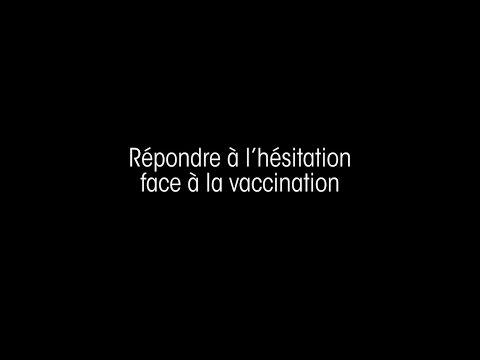 Répondre à la hésitation face à la vaccination