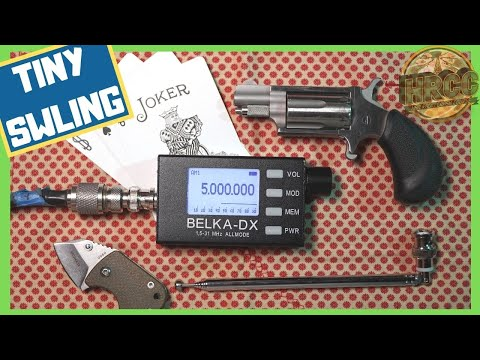 Belka DX Shortwave Receiver - Closeest Thing To A Spy Radio?