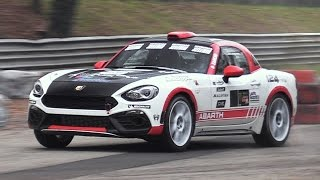 Monza Rally Show 2016: Friday  Saturday Special Stages – Abarth 124 Rally, Legacy Gr.A…