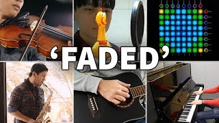 Who Played It Better: Faded (Chicken, Violin, Guitar, Launchpad, Piano, Saxophone)