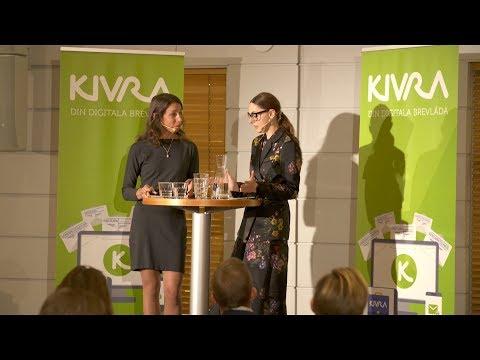 Danica Kragic Jensfelt - Kivras digitaliseringsmöte 2019