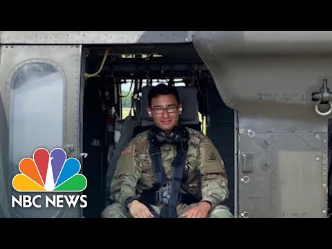 From Covid To Capitol: A Year In The Life Of A National Guardsman | NBC News NOW