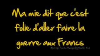 La blanche hermine paroles chant militaire by Mist3rkiwi w