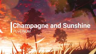 PLVTINUM- Champagne and sunshine (lyrics)