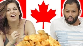 Americans Try New Canadian Lays Flavors