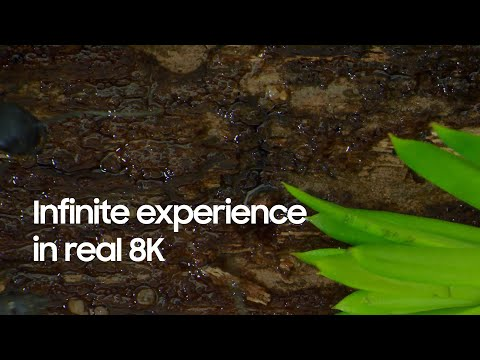 QLED 8K: Infinite experience in real 8K | Samsung