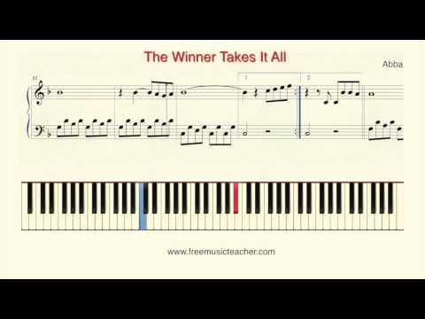 Comment jouer The Winner Takes It All de ABBA