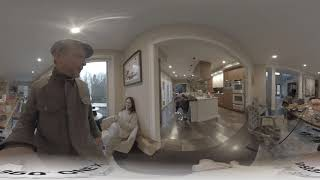 A 360 VR video, first try