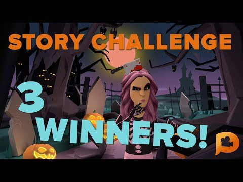 WINNERS of October Story Challenge!! #scaryplotagon 🎃